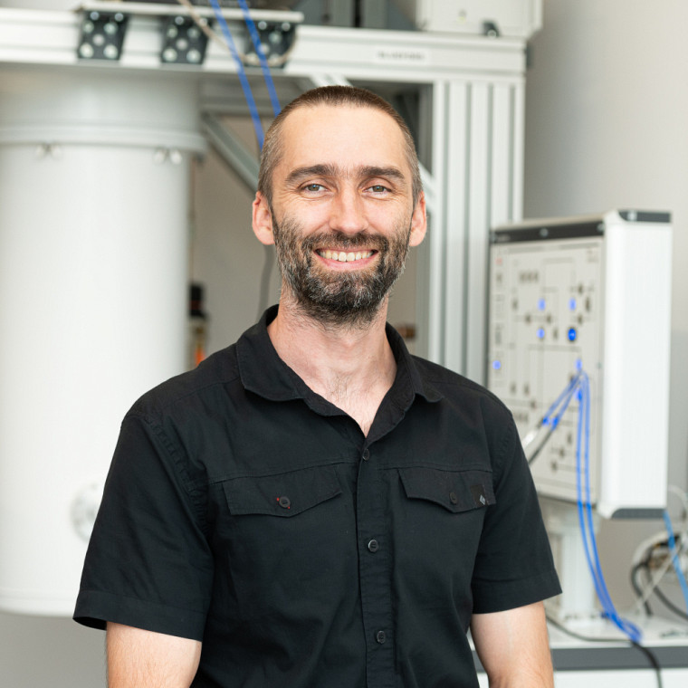Le professeur Mathieu Juan, du Département de physique de la Faculté des sciences.