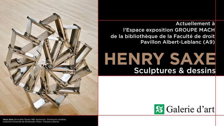 Henry Saxe, De la Série Tractor, 1981. Aluminium, dimensions variables. Collection Université de Sherbrooke. Don Dr Patrick Charlebois et Mme Geneviève Miller.