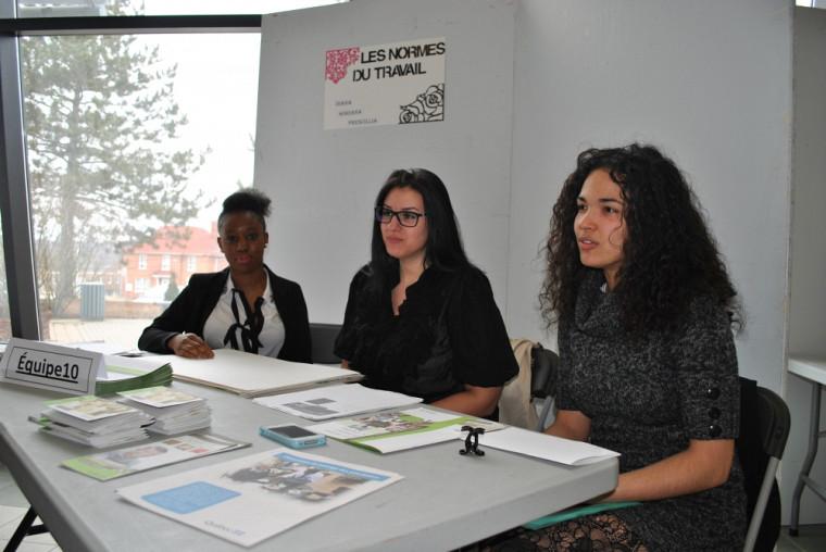 Prescilla Bongota Lokenyo,Sabrina Diana Gaspar etAdriana Blanco Bueno