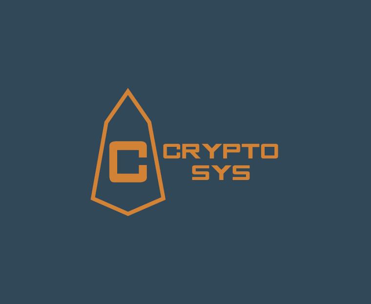Logo du projet de fin de baccalauréat, CryptoSys, de 14 étudiants en génie informatique de l'UdeS.
