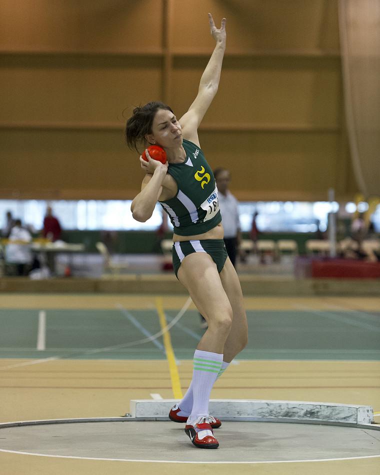 Pascale Délisle a été couronnée championne québécoise au pentathlon en fin de semaine dernière.