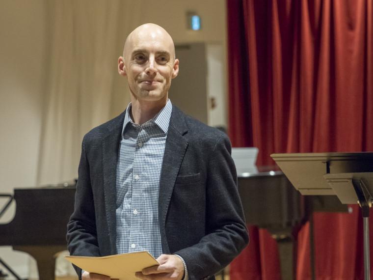 André Cayer, directeur de l'École de musique