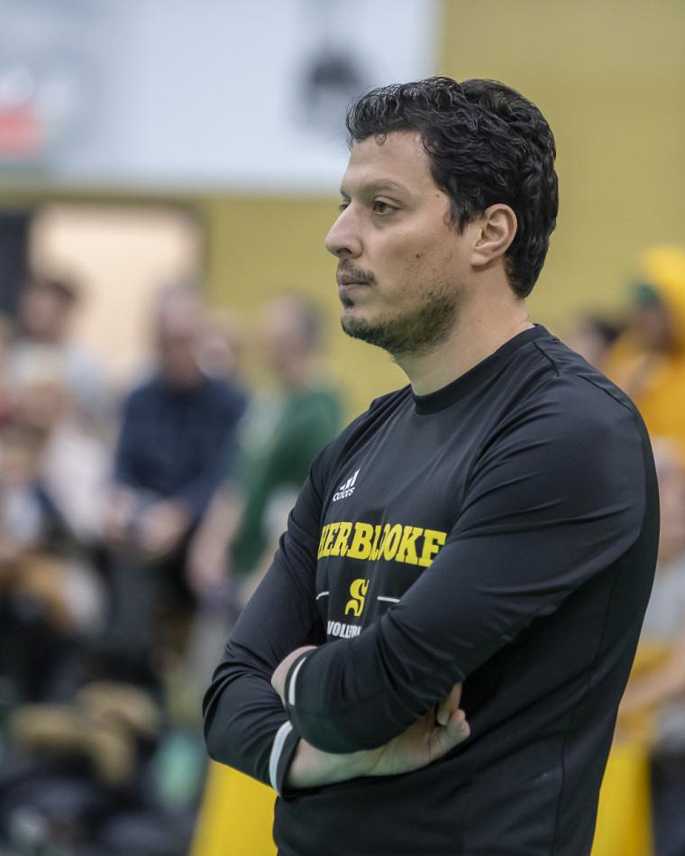 L'entraîneur du Vert & Or masculin, Mohamed El Fethi Abed.