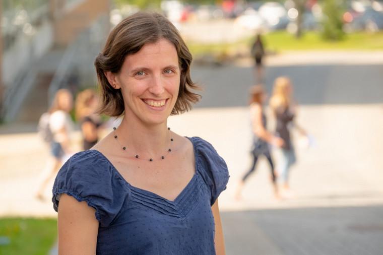 Eugénie Dostie-Goulet, chargée de cours à l'École de politique appliquée de la Faculté des lettres et sciences humaines