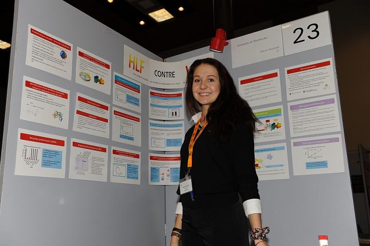 Sabrina Bouchard, Expérimentation HLF contre VHC, Séminaire de Sherbrooke