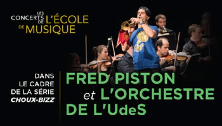 L'impressionnant Fred Piston fera découvrir les multiples facettes de la trompette le 10 décembre prochain à 14h.