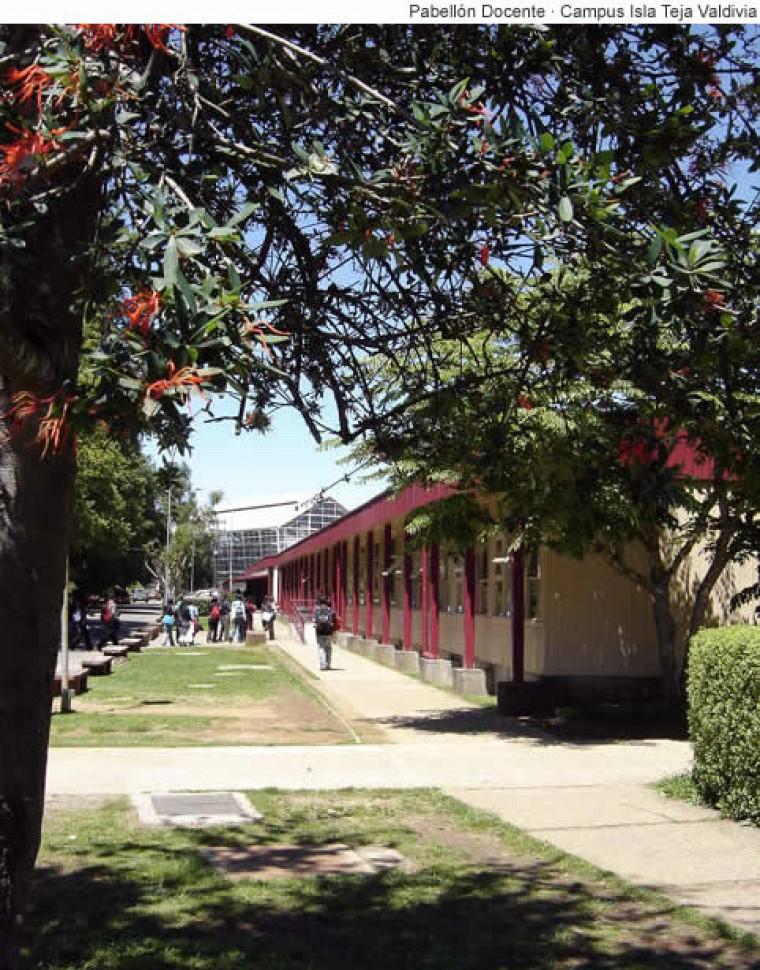 Campus Isla Teja - Valdivia, Universidad Austral de Chile.