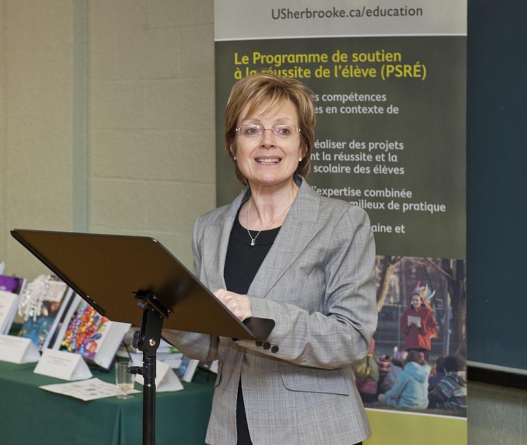 La professeure Colette Deaudelin, doyenne de la Faculté d'éducation.