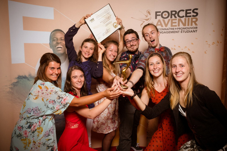 Ruche Campus, lauréate dans la catégorie Environnement en 2017.