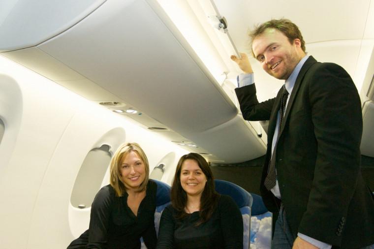 Geneviève Dufour, Kristine Plouffe-Malette et David Pavot