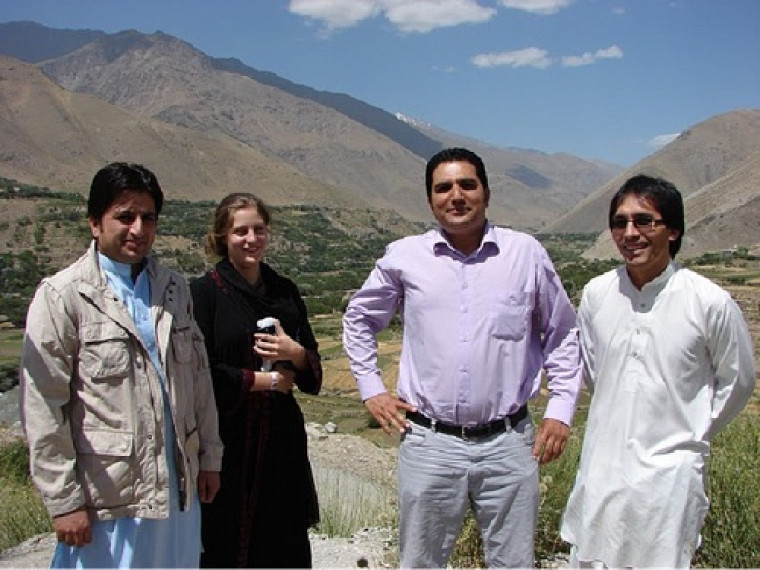 Visite près de la tombe du commandant Massoud dans la région du Panshir