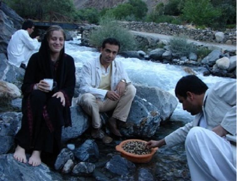 Les Afghans se sont montrés très accueillants.