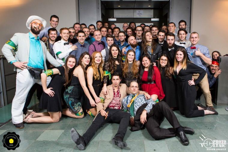 Délégation sherbrookoise qui a participé à la 26e édition des Jeux de génie du Québec