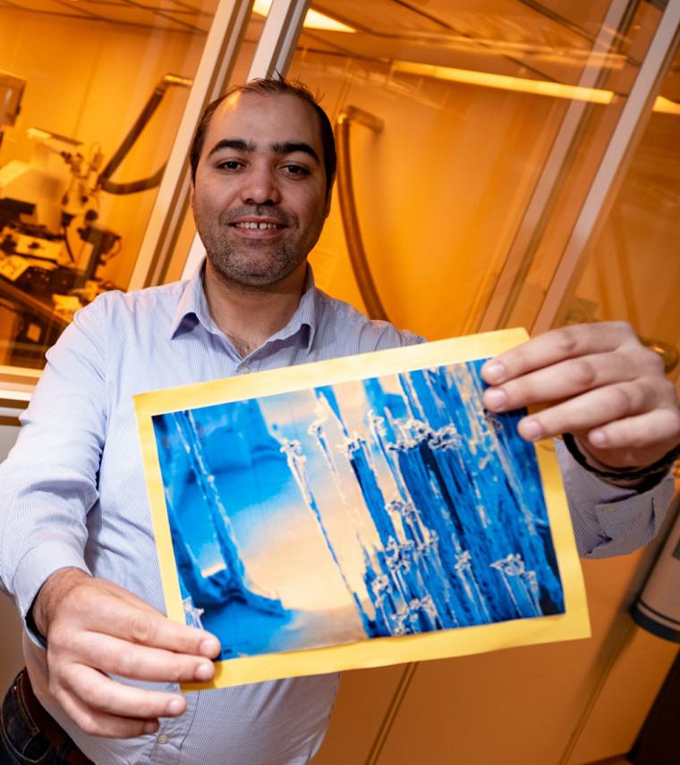 Ahmed Chakroun, Prix du public Découverte pour le concours La preuve par l'image