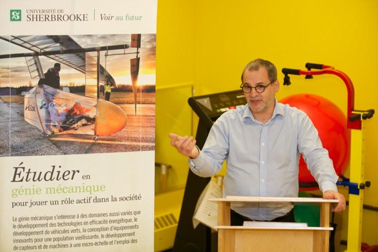 Alain Webster, vice-recteur au développement durable et aux relations gouvernementales