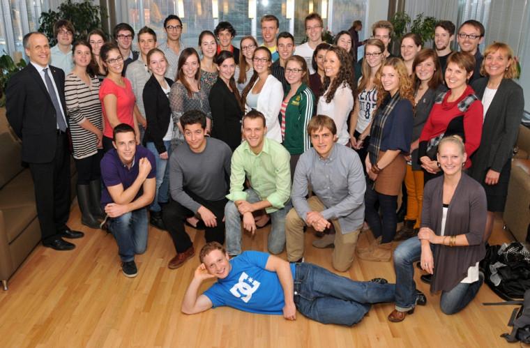 Les récipiendaires de bourses du programme de doctorat en médecine offert à Sherbrooke