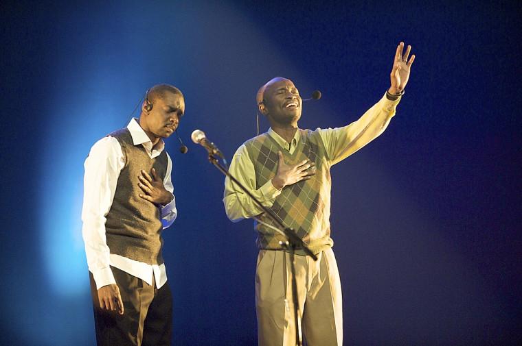 Pierre-Gardy Raymond et Arcène Lucien ont livré une touchante prestation