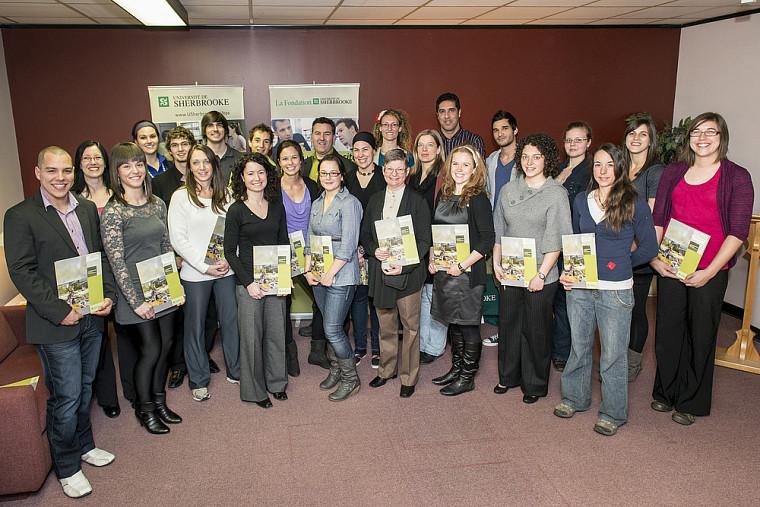 En 2012, la FEPS et La Fondation ont remis plus de 30 bourses aux étudiantes et aux étudiants aux trois cycles.