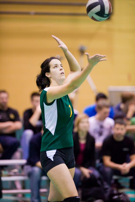 Stéphanie Larrivée-Vanier a salué son retour au jeu avec une nomination au sein de l'équipe d'étoiles de la Classique présaison Marriot de l'Université d'Ottawa.