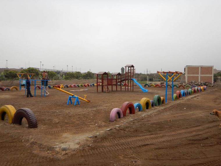 Parc écologique réalisé par les participants du stage au Pérou durant l'été 2015.