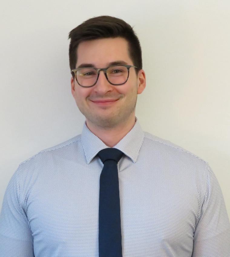 Simon Michaud, étudiant au baccalauréat en génie robotique, UdeS