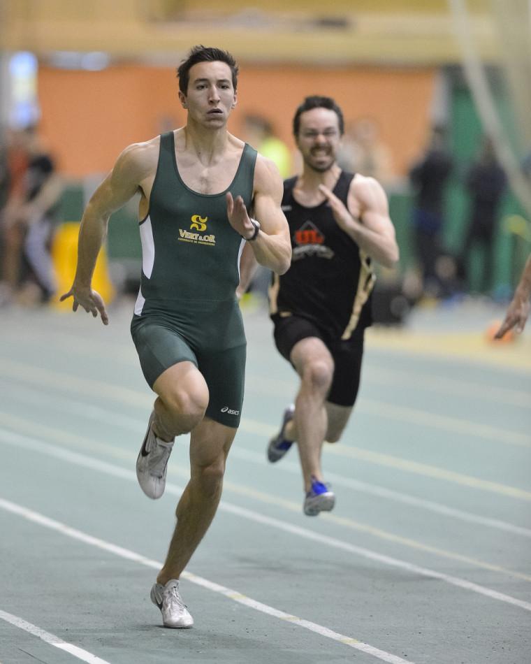 Sébastien Sévigny sera l'un des 23 athlètes représentant le Vert & Or lors de l'édition 2014 du Championnat d'athlétisme de Sport interuniversitaire canadien à Edmonton, du 6 au 8 mars.