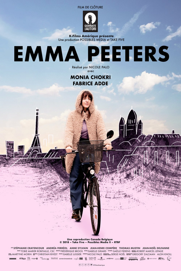 Emma Peeters, réalisé par Nicole Palo. Musique originale de Robert Marcel Lepage.