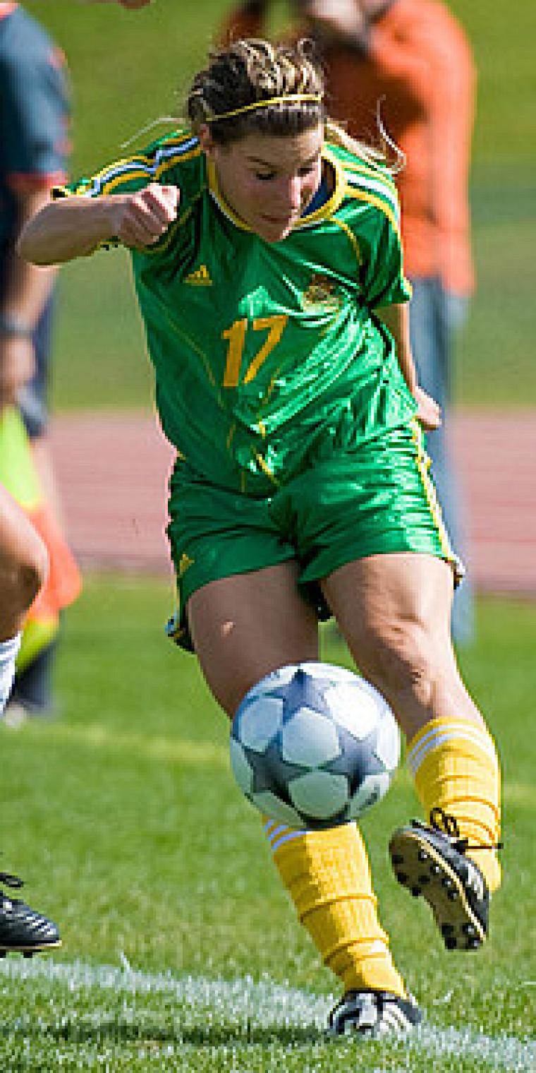 Marie-Émilie Perreault-Morier a ouvert la marque à la 38e minute de jeu en marquant sur un retour de lancer.