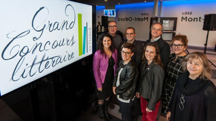 En nouveauté, le Grand Concours littéraire est maintenant ouvert à tous les établissements postsecondaires de Sherbrooke et de Longueuil.