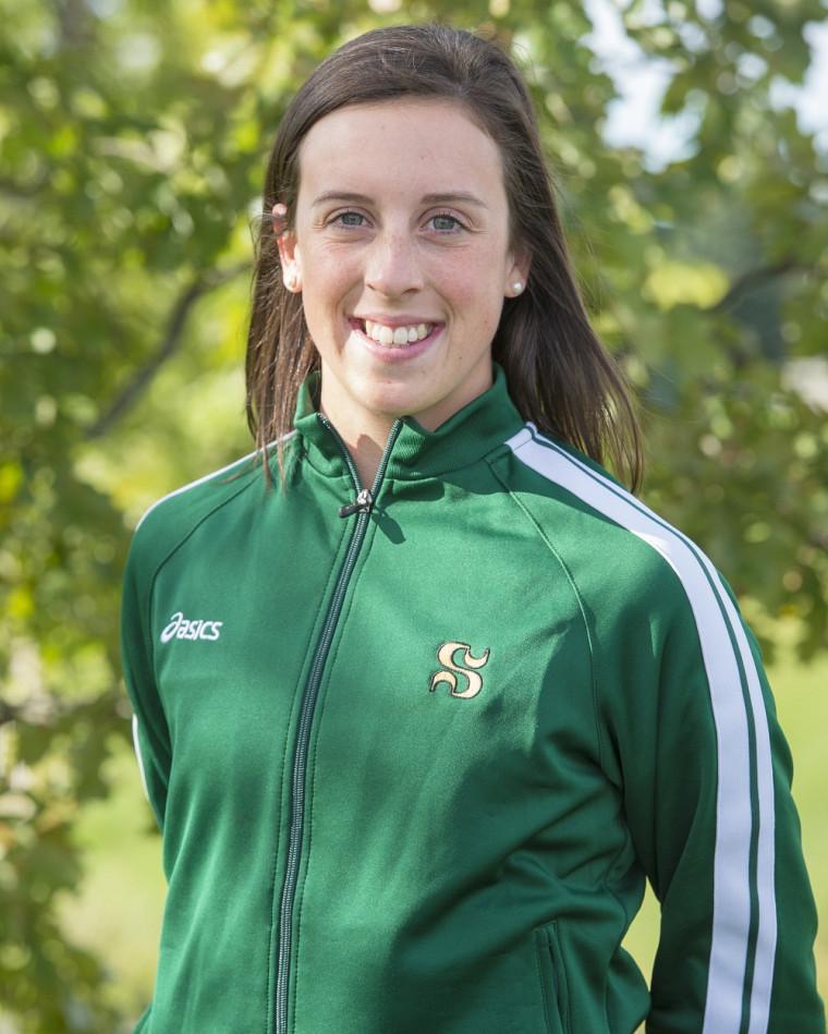La coureuse de fond du Vert&Or Gabrielle Lebel a mérité la médaille d'argent du 4,5 km lors du Rouge et Or Invitation samedi, sur les plaines d'Abraham à Québec.
