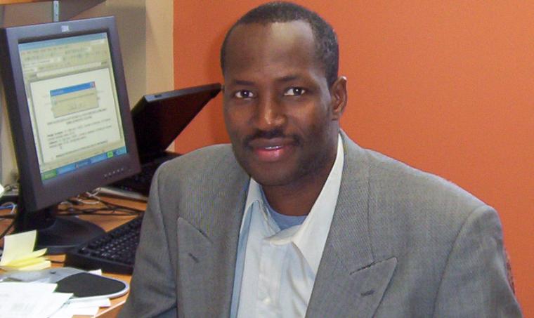Kalifa Goïta, professeur au Département de géomatique appliquée de la Faculté des lettres et sciences humaines de l'Université de Sherbrooke et directeur du CARTEL