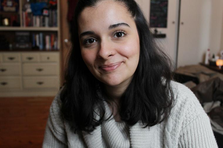 Elise Benamer, gagnante du Concours de vulgarisation scientifique 2020.