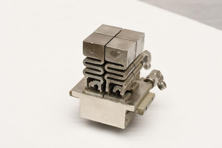 Dernier prototype réalisé par l'équipe de CSAR Energy.