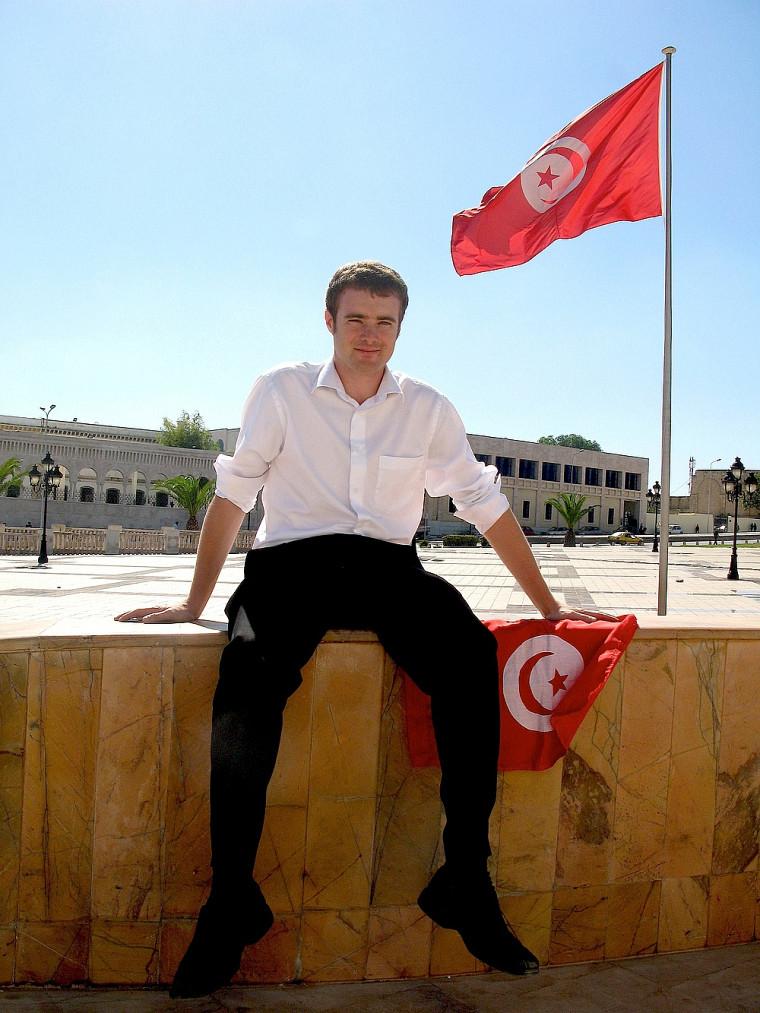Rafaël Primeau-Ferraro est actuellement en stage en Tunisie