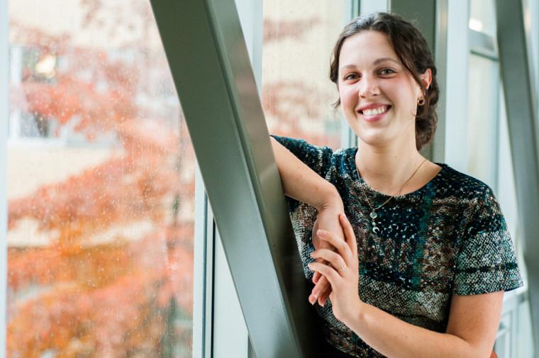 Camille Brière, étudiante à la maîtrise en ergothérapie.