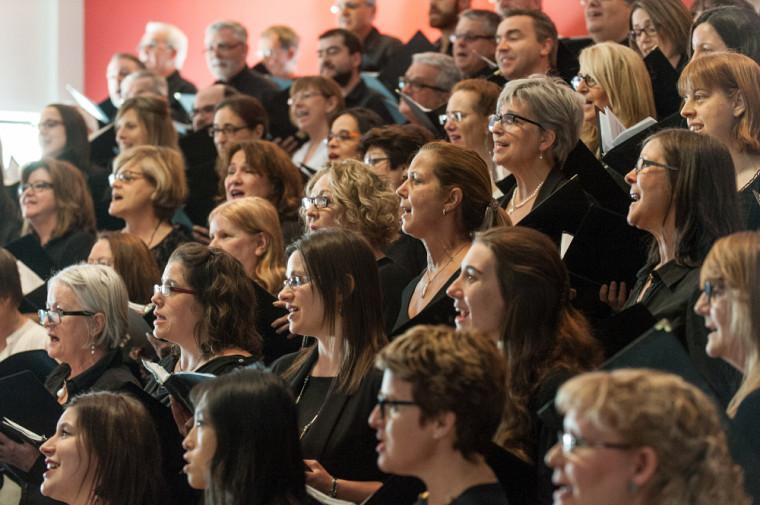 Le Chœur Campus offrira deux concerts à la Salle Maurice-O'Bready en mai prochain. Pour la première fois, quatre musiciens accompagneront les 110 choristes sur scène!