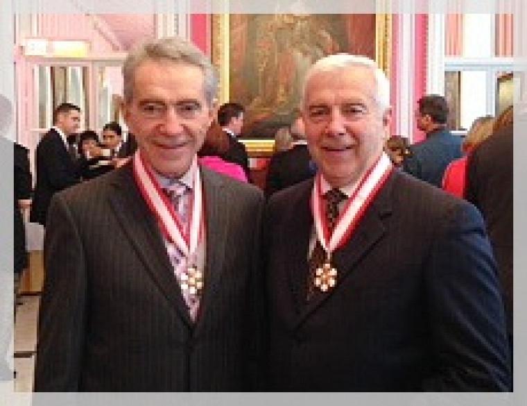 Laurent et Alain Lemaire.