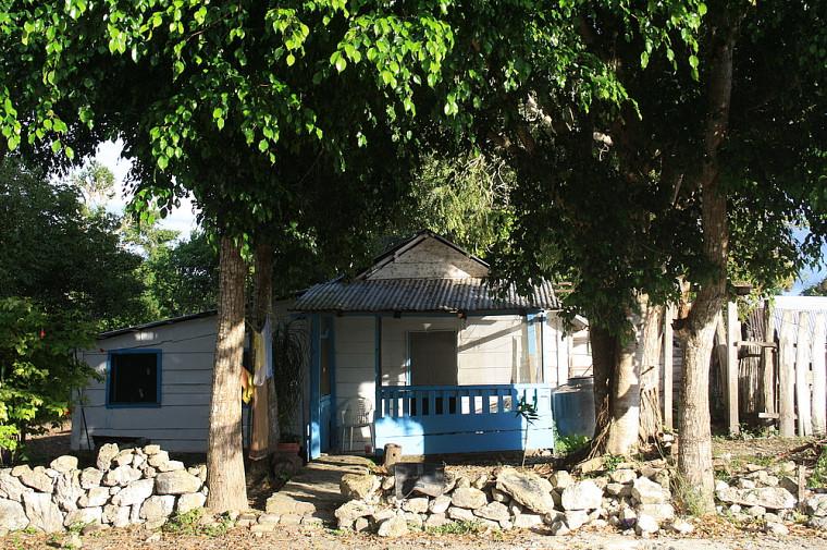 La maison où loge l'équipe de Sabrina Plante à Zoh Laguna