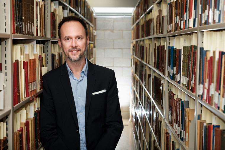 Le professeur Nicholas Dion, spécialiste de l'histoire de la littérature française des XVIIeet XVIIIesiècles.