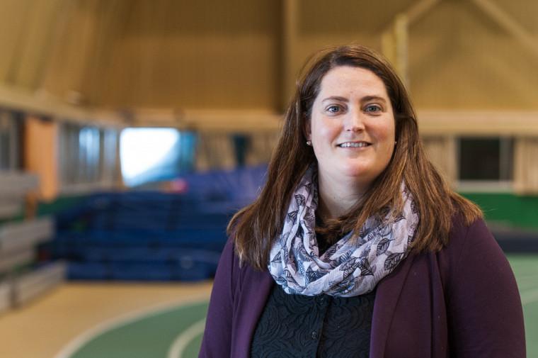 Amélie Soulard, chargée de cours à la Faculté des sciences de l'activité physique