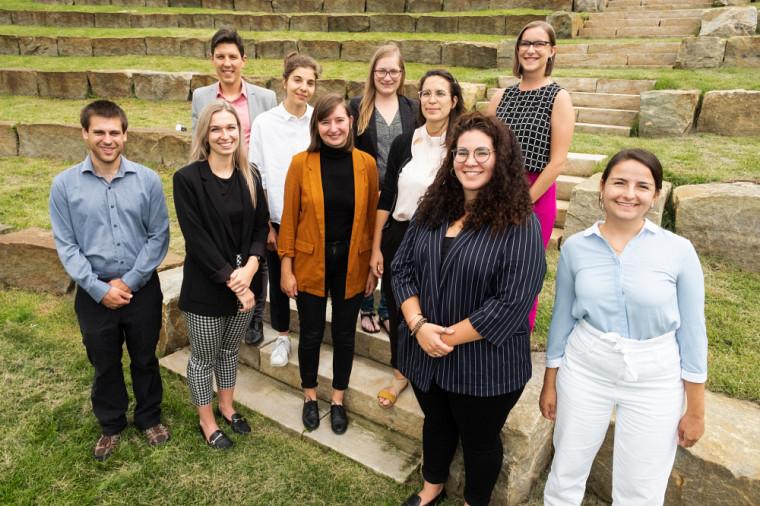La membres de la délégation de l'UdeS à la CdP-25