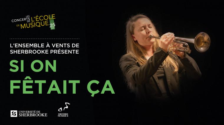 Le 20 janvier à 15 h au Centre culturel de l'UdeS se réuniront l'Ensemble à vents de Sherbrooke et l'Harmonie Montcalm pour une 8e année.