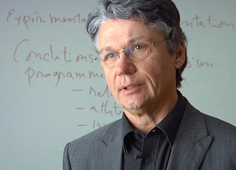 Laurier Fortin, professeur à la Faculté d'éducation