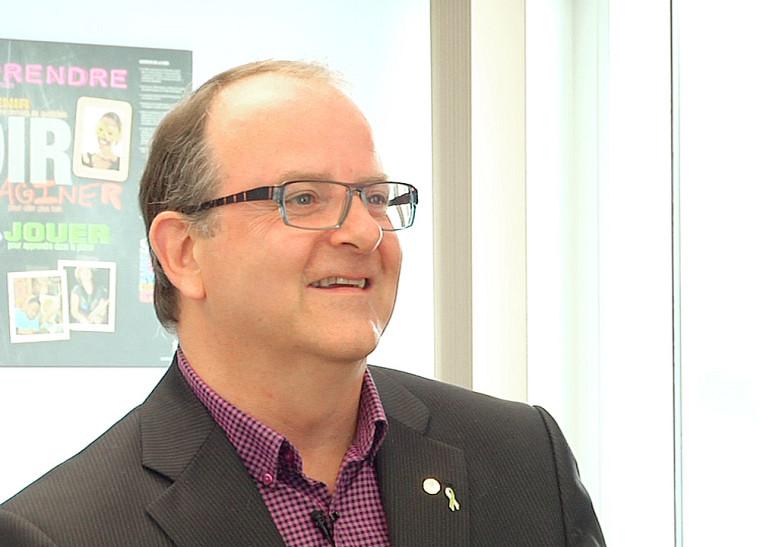Michel Bernard, directeur général de la CSRS