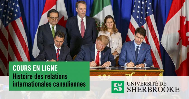 Signature du nouvel Accord Canada-États-Unis-Mexique (ACEUM), le 30 novembre 2018, en marge du Sommet du G20 à Buenos Aires.