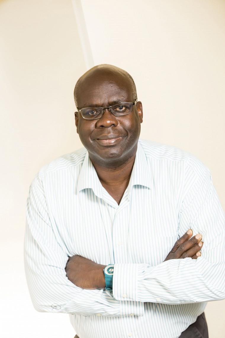 Le professeur Adolphe Adihou, du Département d'études sur l'adaptation scolaire et sociale