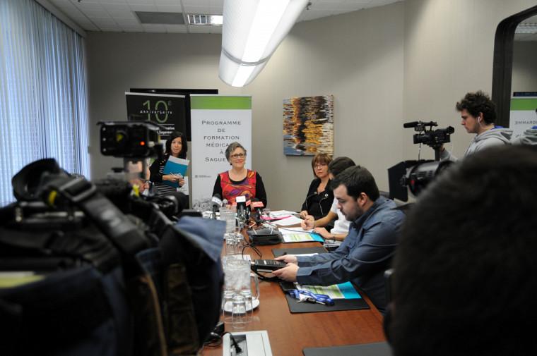Le Forum « Vers une médecine grandeur nature » s'est tenu le 26octobre dernier, au Saguenay−Lac-St-Jean.
