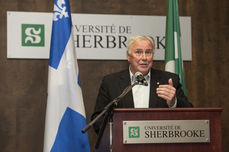 Gilles Normand, président de la Commission scolaire de la Région-de-Sherbrooke.