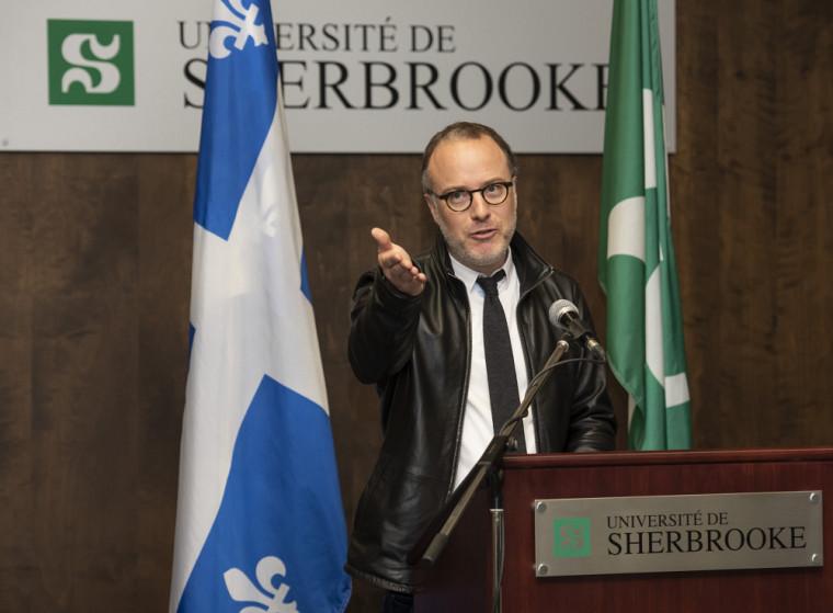 Martin Lépine, professeur à la Faculté d'éducation.