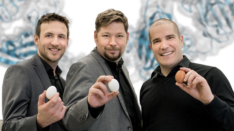Annonce officielle de la construction du centre EspaceLabz dans le parc scientifique de Sherbrooke et du déménagement d'Immune Biosolutions dans ses nouvelles installations.